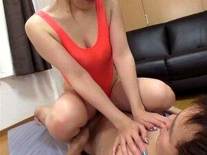 ญี่ปุ่น JAV โลชั่นยุ่งมือสมัครเล่นเพศชุดว่ายน้ำ Subtitled