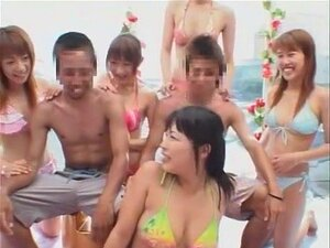 Exotic Japanese model Rio Nakayama, Akira Watase, Ouka Fujimiya in Fabulous JAV movie
