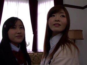 Incredible Japanese model Suzu Ichinose, Arisa Shiraishi in Hottest cunnilingus, college JAV scene,