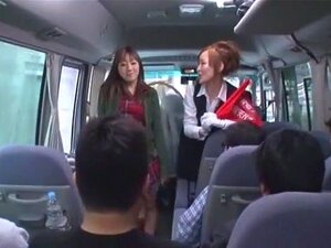 Crazy Japanese model Reina Akitsuki in Exotic Bus, Girlfriend JAV clip