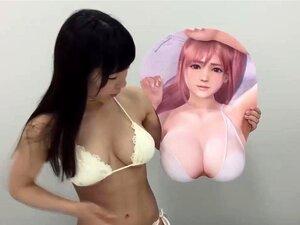 Marie Rose & Honoka 3D sexy mousepads (DOA) Dead or Alive