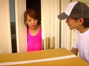 Horny Japanese chick Hitomi Tanaka in Exotic Threesomes, Big Tits JAV scene