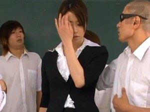 Maki Houjo ร้อนครูทั้งเพศ part4