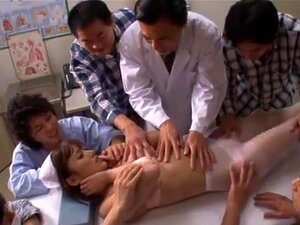 Wild nurse Kokone Mizutani shows nice ass, Our hot MILF Kokone Mizutani has got a really nice ass. In addition to that her horny attitude makes her get involved in tit squeezing session. However her fuckmate was willing to enjoy that dirty lechery even more, so he started fingering her pussy with joy.