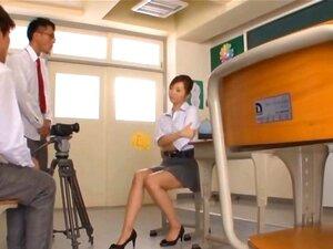 Kaori Hot Japanese teacher getting part6