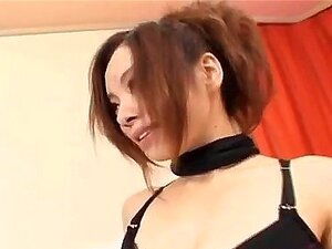 Reina Yoshii on heels gets shlong in mouth