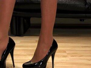 รองเท้าส้นสูงรองเท้าตอน