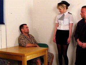 ตำรวจ Jizzed cfnm โด