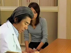 Naughty nurse and her fake dong in hardcore Gyno exam video, Skinny and very pretty Japanese naughty nurse is all over her patient during the medical exam and she fucks her with her fake pecker pretty hard. It brings those bot h a lot of fun.