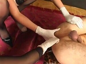 net discover 2 femdoms used his booty,
