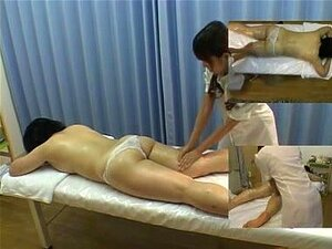 Japanese MILF in a passionate sex massage. Lovely Japanese MILF enjoys a sexy oil massage with some pussy stimulation and that pleases her pretty much.