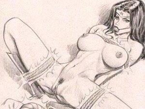 การ์ตูน: ผู้หญิงสวยนมใหญ่