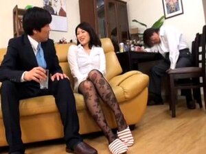 Japanese Wife Fucked By Husbands Co-Worker