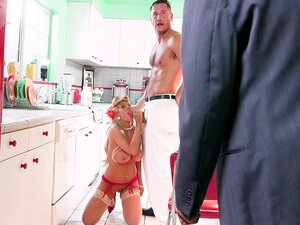 Kayla Kayden was caught by her husband getting facialed - Kayla Kayden