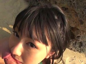 Megumi Haruka young asian hand job and blowjob. Megumi Haruka and her friend were walking around outside when she stops to drop to her knees to give a POV blowjob in these asian outdoor sex movies. She works his shaft with her mouth and hand, rubbing it against her big tits as he gets ready to cum in h