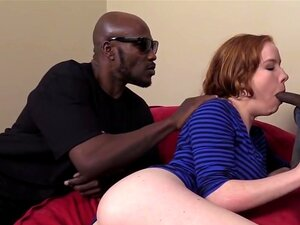 Kierra Wilde Gets Her Holes Drilled By Black Men, Kierra Wilde is eager to hear some filthy stories about what happened to white babes like her in the early DogFart days. Wesley and Mark gladly tells her how they banged naughty babes and in fact, they even show it to the sexy redhead by stuffing her puss
