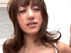 Crazy Japanese slut Arisa Kanno in Fabulous Creampie, Lingerie JAV clip