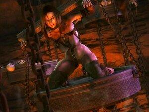 Arcas มีพรสวรรค์ ด้วยคอมพิวเตอร์ และทำให้ปลุกใจ BDSM ศิลปะ 3 มิติ