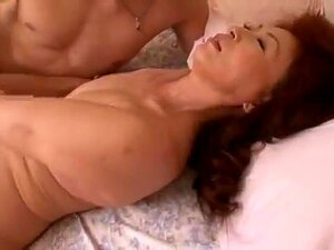 Mom from Japan fucked by young guy. Mother seduced young man