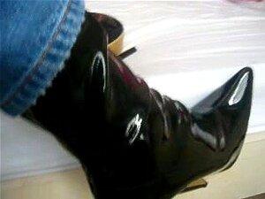 รองเท้าบูท 7 นิ้ว