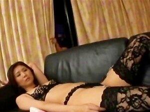 Gangbang with luxury Japanese bum slut