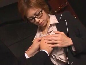 Hottest Japanese whore Yukari Ayasaki, Sae Aragaki in Amazing Secretary, Office JAV clip