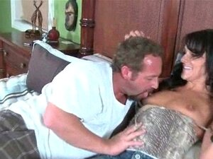 Sex starved MILF brings horny lover over for a hardcore. Brunette nympho mom cheating on her husband with a horny stud