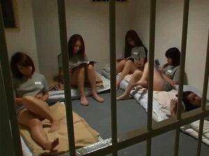 Japanese Secret Honeys's Prison part 6 Face-Sit the Guard,
