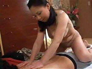 Japanese Mom Caught Nephew Jerking, Japonese mom desire young man