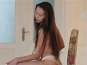 Junges Mädchen sex in public