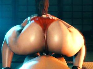 Mai Shiranui Reverse Cowgirl Sex Scene