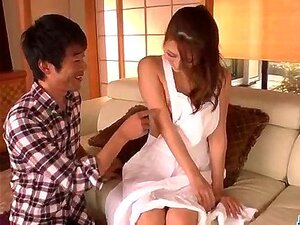 Nana Ninomiya, hot wife, amazes hubby with fu