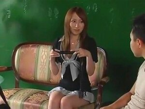 Crazy Japanese girl Miyu Nakai in Exotic Lingerie, Blowjob JAV clip,