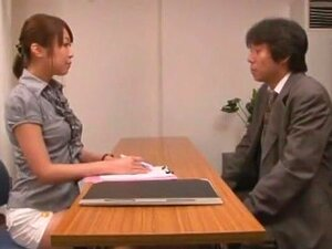 Fabulous Japanese chick Sae Aihara in Horny Blowjob, Office JAV movie