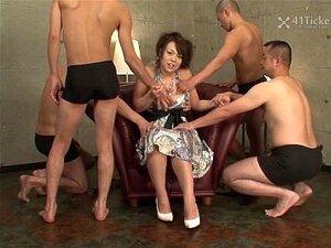 Reiko Nakamori's Gangbang (Uncensored JAV)