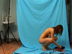 Hot solo session with delicious teen Iren. Petite teenage looker unveiled her tight body and went on to finger hersnatch