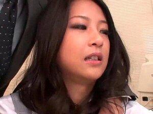 เซ็กซี่เอเชียได้รับนัก และดูดที่สำนักงาน