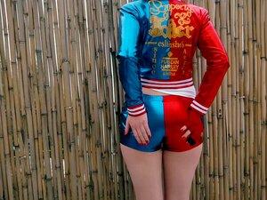 Ginger Harley Quinn Cosplay Creampie