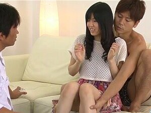 Nozomi Koizumi oriental oral-sex and fuck for 2 chaps. With how taut her twat is, u aren