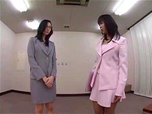 สาวออฟฟิศญี่ปุ่นเอเชีย