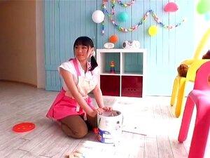 Exotic Japanese chick Akane Yoshinaga in Best POV JAV video