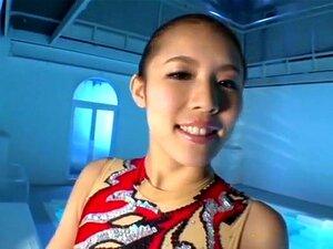 Super shock! Former synchro Japan national team, Katahira Akane chan No way of AV debut! Part Katahira Akane