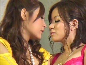 Amazing Japanese chick Rina Fukada, Yuuri Nanase in Exotic Big Tits, Fishnet JAV movie