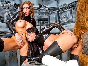 Brandy Aniston & Eve Laurence in Star Wars XXX: A Porn Parody - Part 5 - Vivid, Sexy and busty stormtroopers get boned one at a time by a nasty horny Chewbacca