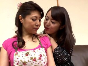 Kaede Niyama, Yurika Ota in Lesbian Daughter In Law part 1,