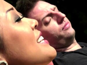 Saya Song gets her hairy pussy fucked by a friend