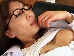 Shiho naughty Asian doll in glasses gives a blowjob and anal, Shiho is an arousing Asian doll. She looks sexy in her uniform and glasses when she takes on this bald dude, sucking his cock in a hot blowjob! She gets her pantyhose pulled down and he fingers and licks her wet pussy before some hardcore anal and a messy creampie!