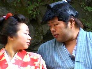 JAV Chichi Hime - คอสเพลย์ชุดกิโมโนที่กลางแจ้ง