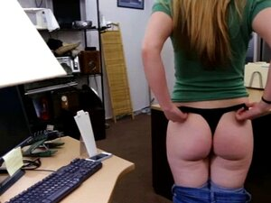 Sexy blonde babe fucked by pawn guy for a pearl necklac