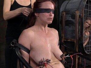 BDSM ย่อยทรมานไฟฟ้า Rossi เบลล่า